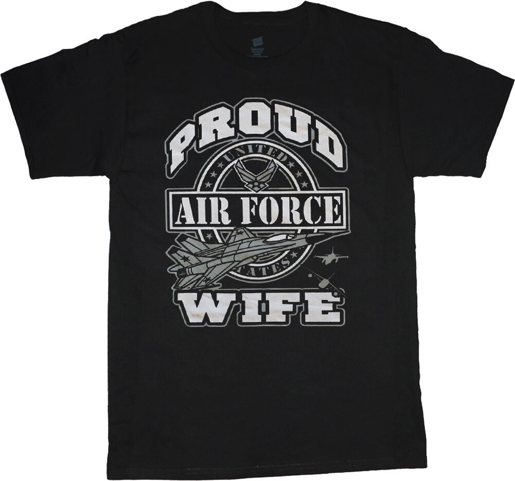c98f0ab5b On Sale: Men's XL t-shirt - Air Force wife decal USAF design tee shirt men  size Funny free shipping Unisex tee