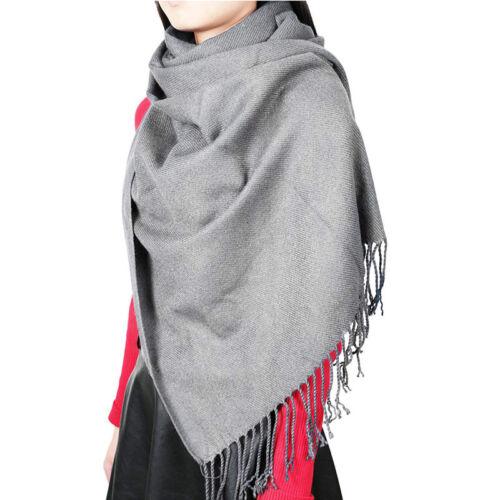 Womens Oversized Scarf Shawl Blanket Scarf Large Checked Wrap Shawl Winter Warm