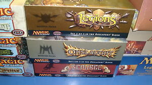 Magic-the-Gathering-Mtg-Empty-Legions-Onslaught-Scourge-Booster-boxes