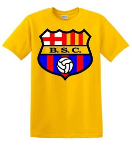 Barcelona Sporting Club Guayaquil Ecuador Football Soccer T Shirt Camiseta Ebay