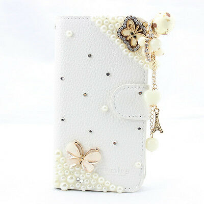1x 3D bling BOW peacock leather diamond hard case cover for ipod touch 4 5 6