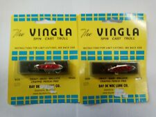 2 NIP BAY DE NOC LURE CO THE VINGLA SPIN CAST TROLL 3N 1//5 OZ