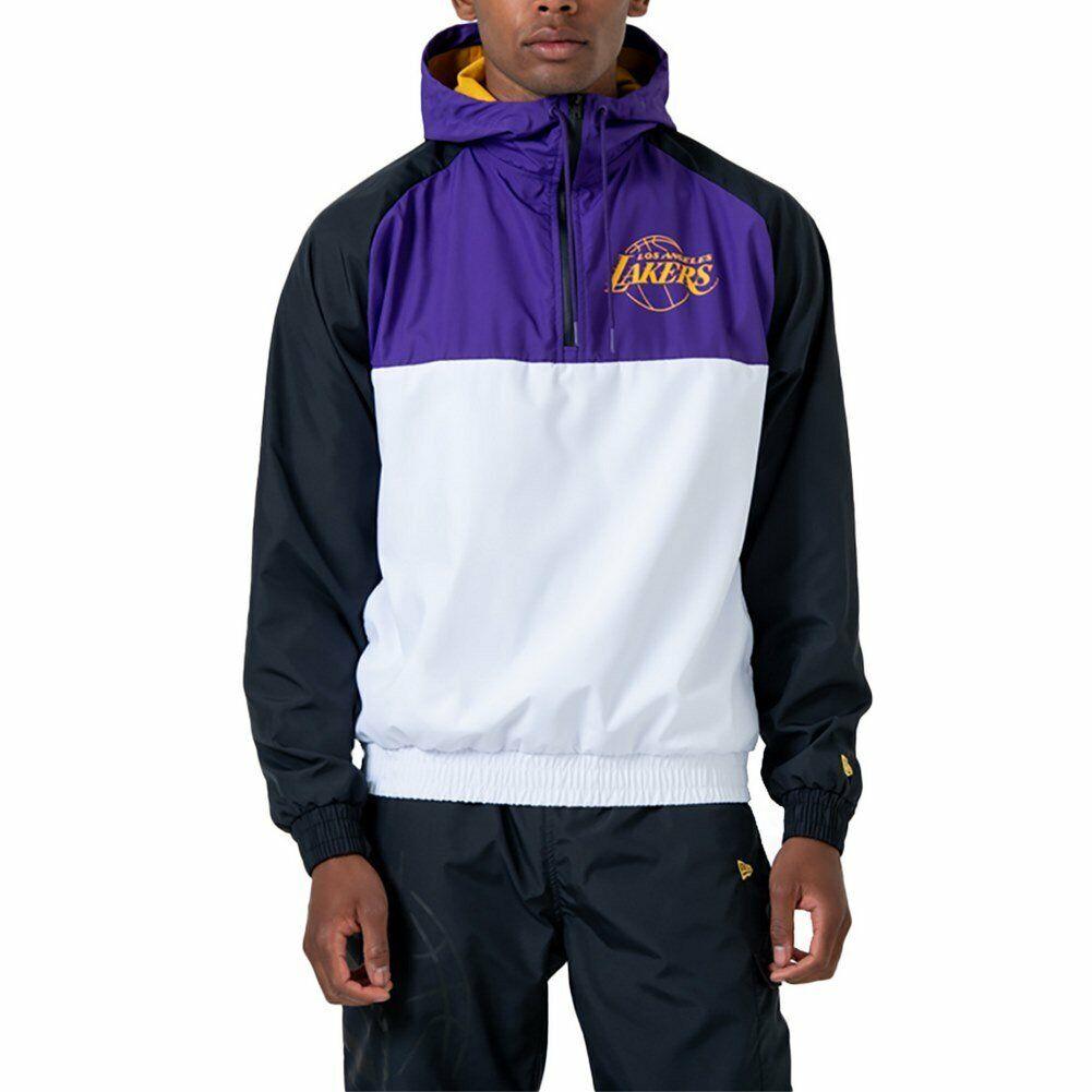 Windjacke New Era Nba Los Angeles Lakers Weiß Herren
