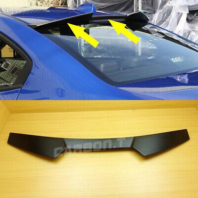 Unpainted 2015~2019 Subaru WRX STi sedan high kick V type roof spoiler @US