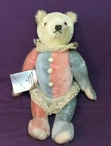 Deans-Childsplay-Toys-Schoonmaker-CLOWN-Teddy-Bear-Signature-Series-II