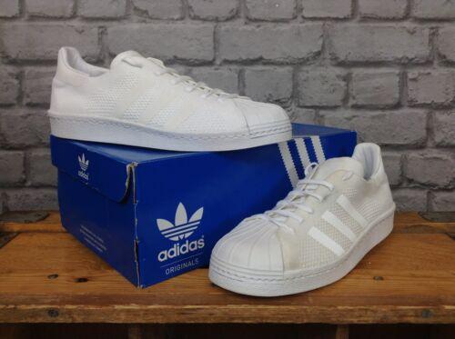 Superstar 39 White £ 3 Eu Rrp Primeknit Uk ginnastica 1 da 105 Mens Scarpe Shelltoe Adidas 6 q0IBzzw