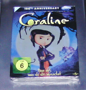 Coraline-Steelbook-Edicion-Blu-Ray-Mas-Rapido-Envio-NUEVO-Y-EMB-orig