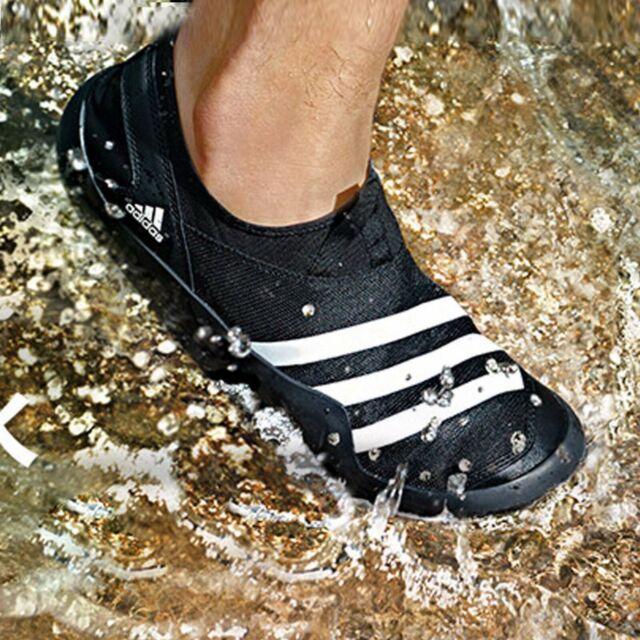 con las manos en la masa Extranjero Ciro  Mens adidas Jawpaw II 2 Slip on Boat Water PUMPS Shoes Outdoor Trainers Shoe  Black / Red UK 11 for sale online | eBay