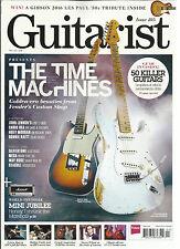 GUITARIST MAGAZINE, THE TIME MACHINES  APRIL, 2016  ISSUE, 405 (50KILLER GUITARS