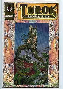 Turok-1-Gold-Logo-Variant-Comic-Book-NM-New-Valiant-Comics-1993-Amricons-F7