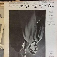 A2e ephemera picture 1940s theatre john mills duet for two hands e brook jones