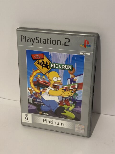The Simpsons Hit & Run - PlayStation 2 PS2 - DISC LIKE NEW