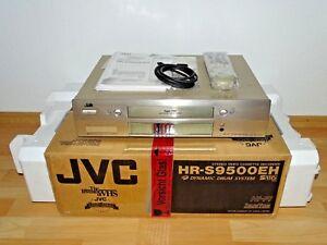 JVC HR-S9500 High-End S-VHS Videorecorder in OVP w.NEU, 2J. Garantie