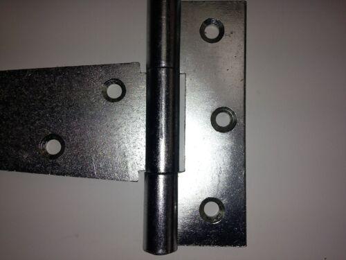 Tee Hinge Pair 121//400-ZP BJ215 Medium Duty 400mm Zinc plated Steel