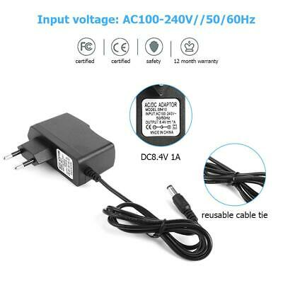 DC5.5mm 18.5-21V AC//DC Charger Adapter for 18650 Li-ion LiPo Lithium Battery
