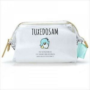 NEW Sanrio Tuxedo Sam Clear Pouch Case Bag w/Wire Import from Japan F/S