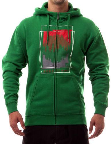 NordWeiß sportive Männer Jacke Kapuzen Sweatjacke Sweatshirtjacke Grün S-XXXL