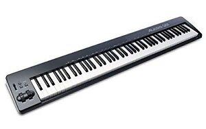 Alesis Q88 Professionnel 88-key Pleine Longueur Usb/midi Keyboard Controller Open Box-afficher Le Titre D'origine