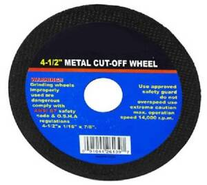 50-4-5-034-Inch-Grinding-Cut-Off-Wheel-Disc-1-16-034-Tools-7-8-034-Arbor-Angle-Grinder