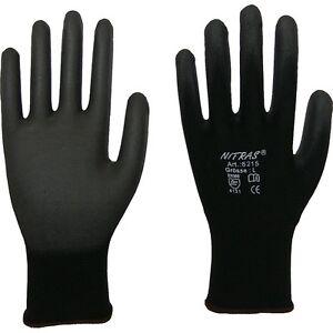 Konstruktiv Nitras 6215 Montagehandschuh Arbeitshandschuh Nylon Pu-beschichtung 24 O.60 Paar Arbeitskleidung & -schutz