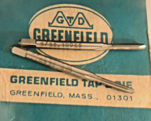 Tap 3//32-100 NF HS 2FL Spiral point TAP.0857 //.0852 Greenfield//TRW Made in USA