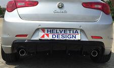 Sotto Paraurti posteriore / Rear DAM QV LAUNCH Ed. in CARBONIO x Alfa Giulietta