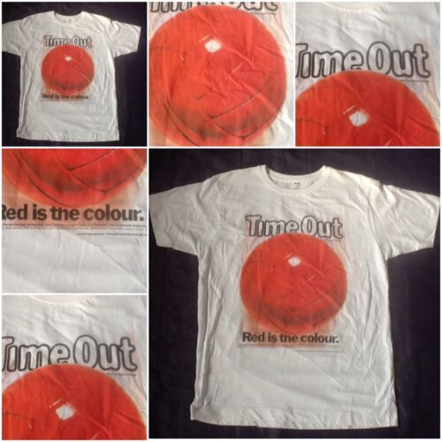 Liverpool time out magazine rouge est la couleur pour homme adulte tee tshirt t-shirt homme