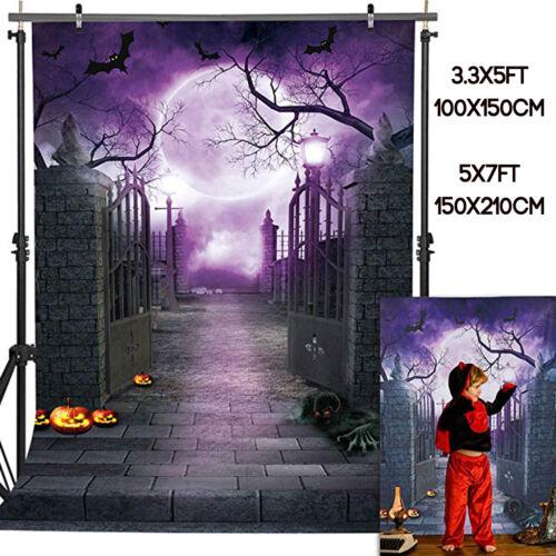 3.3x5//5x7ft Halloween Vinyl Studio Photography Background Photo Backdrop Party