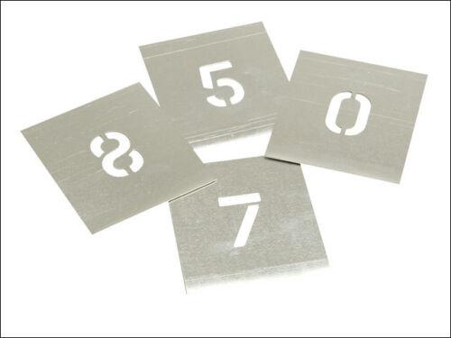Stencils stnf 212 set de zinc-figures 2.1//2in