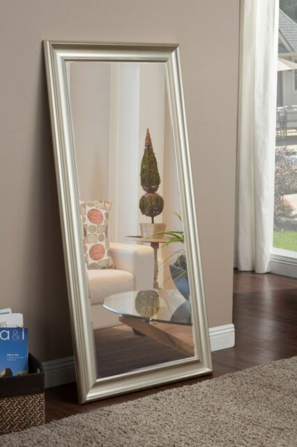 Leaner Mirror Full Length Floor Huge Rectangle Oversized