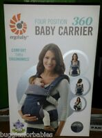 Ergo Baby Four Position 360 Carrier - Dusty Blue - Brand In Unopened Box