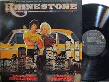 Rhinestone  (Soundtrack) (Sylvester Stallone, Dolly Parton = 4 duets!) ('84)
