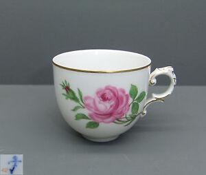f rstenberg espresso tasse alt f rstenberg rote rose ebay. Black Bedroom Furniture Sets. Home Design Ideas