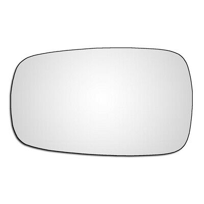 Left Passenger Side Flat Wing Door Mirror Glass For Renault Megane MK3 2008-2016