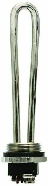 High Watt Density Camco 02342//02341 4500W 240V Screw-In Water Heater Element