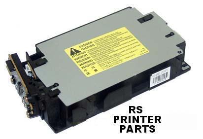 HP CLJ 2550  2820 2840 RG5-6890 Laser Scanner+Rfb WRNT