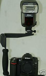 Image Is Loading PRO SLR Flash Bracket SB900 SB910 580EX YN568EXII