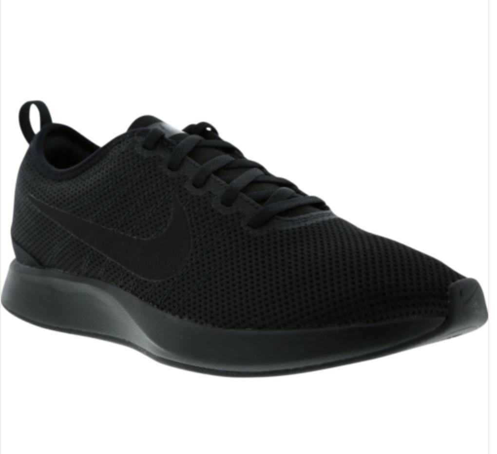 Nike Dualtone Racer Hommes 11 EU 46 Noir Sneakers Trainers Chaussures 918227-006