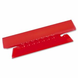 Red Tab //set Esselte Plastic Hanging File Folder Tabs 25 // Pack s 3 Tab