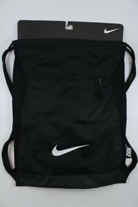 5eb38ee15b Image is loading NIKE-ALPHA-ADAPT-GYMSACK-BLACK-WHITE-DRAWSTRING-BAG-