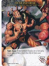 RED SHE-HULK Upper Deck Marvel Legendary WORLD WAR HULK SP VILLAIN CODE RED