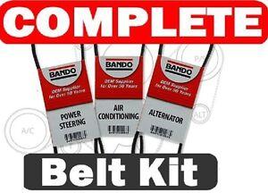 Details about NISSAN PATHFINDER(Fits:Nissan)SERPENTINE & Drive Belt Set  A/C-P/S--Alt 1996-2000