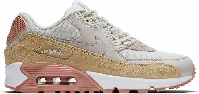 Nike Woherrar Air Max 90 ljus Bone Bone Bone  Mushroom Storlek 12, FITS MEN's 10.5 BRAND ny  billiga märkesvaror