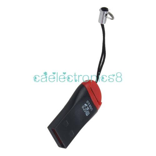 5PCS USB 2.0 Mini Micro SD T-Flash TF M2 Memory Card Reader New High Speed CA