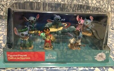 DISNEY LILO AND STITCH Figure Playset CAKE TOPPER NEW LICENSED FREE SHIPPING