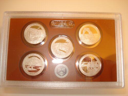 50-Clad Coins 2014 S Proof Parks Quarter Set 10 Pack No Boxes or C.O.A.s