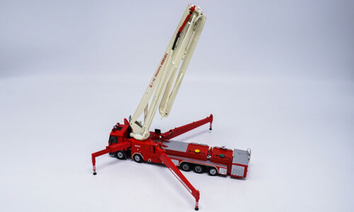 1//50 Scale Sany 62M Water Tower Fire Truck Metal Diecast Model