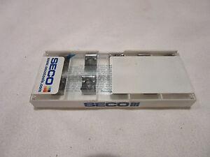 Qty (10) Seco LNKT 080504PPN-E05 Grade H25  Carbide Inserts