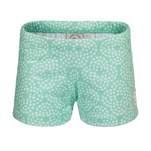 Mint Flower Pebble Swim Shorts