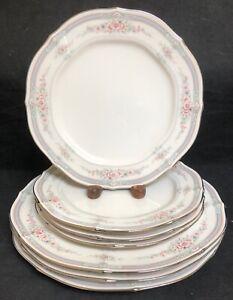 Noritake-ROTHSCHILD-3-10-1-2-034-Dinner-Plates-4-8-3-8-034-Salad-Plates-EXCELLENT